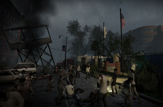 Left 4 Dead Image of School Area for Back to School Campaign