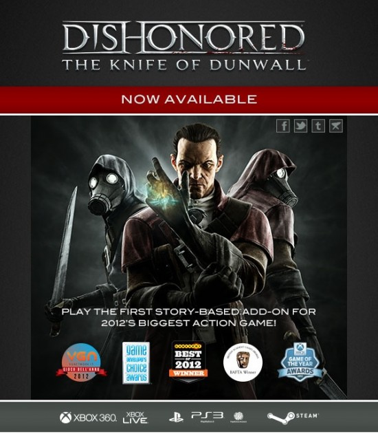Dishonored DLC image