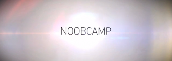 noobcamp trailer logo