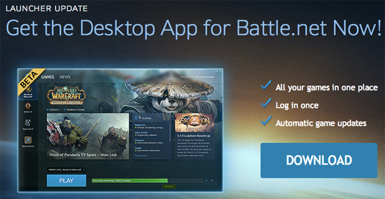 Blizzard Beta Launcher