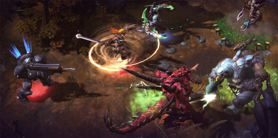 Heroes Game Screenshot