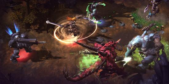 Heroes Game Screenshot