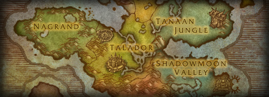 Map of Outland